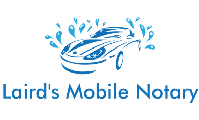 Laird's Mobil Notary logo